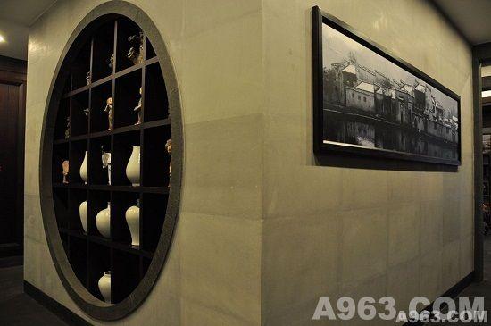 走廊木雕花吊顶造型图