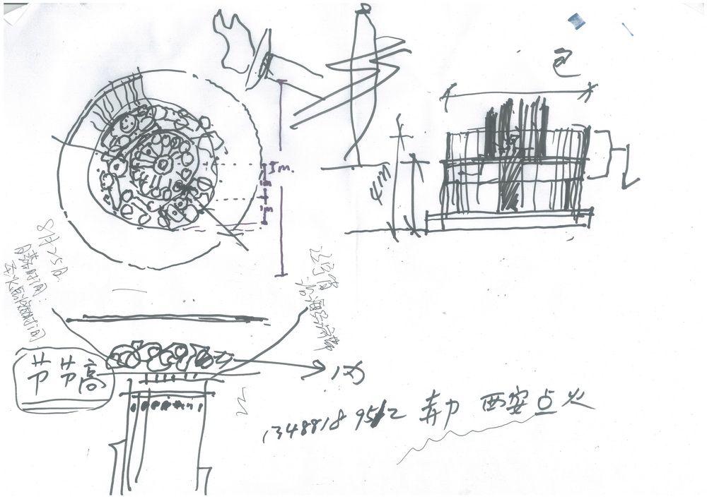 火炬图片手绘简笔画