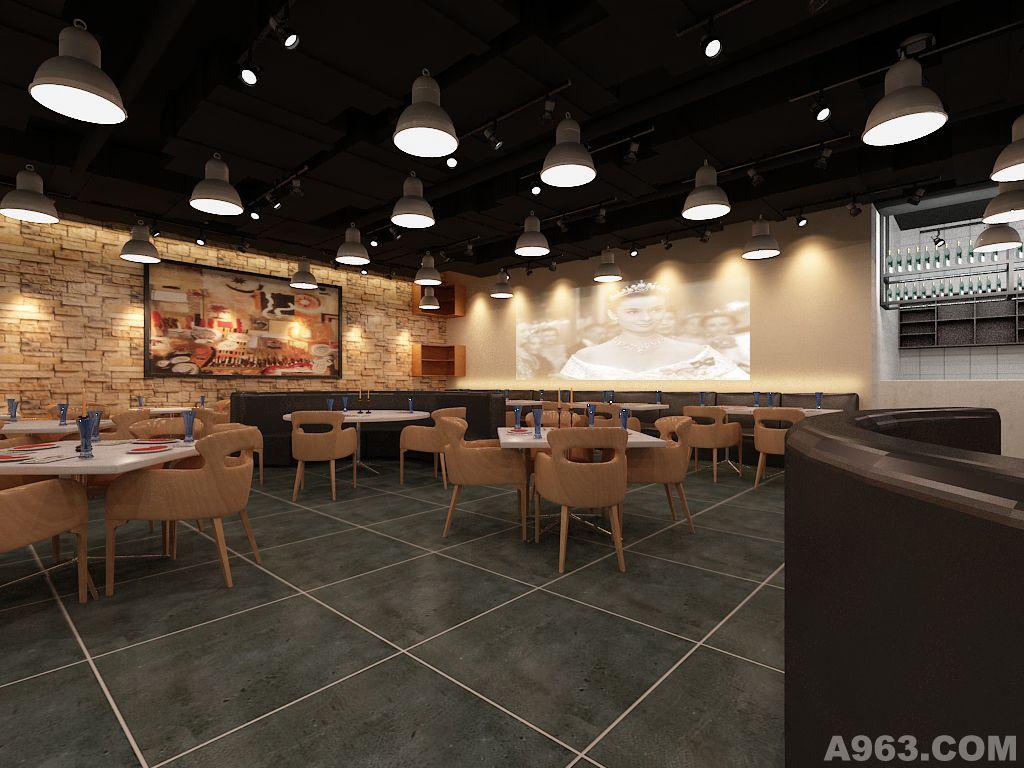 锦州百盛商场西餐厅 - 沈阳餐饮空间设计作品 – 方案