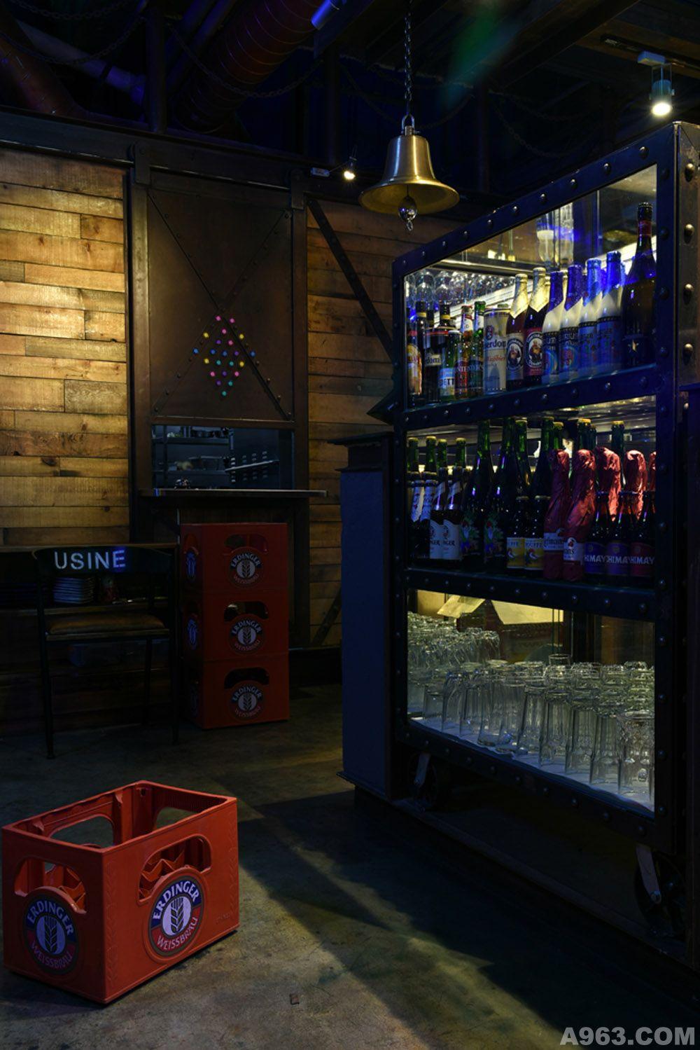 酒品展示区