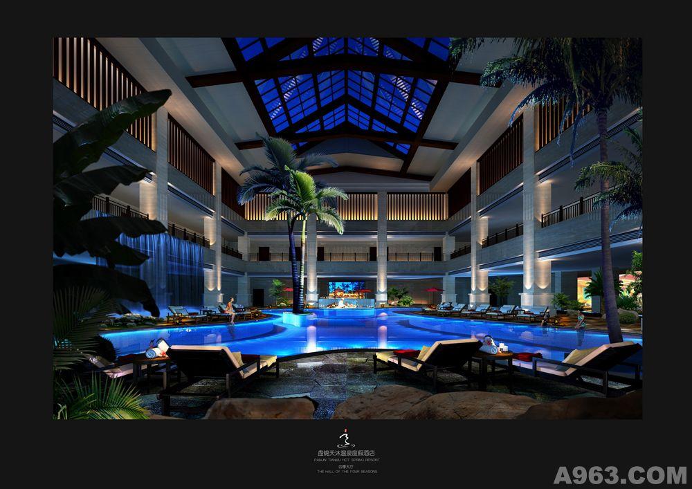 盘锦天沐国际温泉度假酒店设计