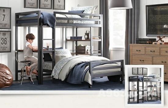 家装设计:欧式古典风格男孩房间设计