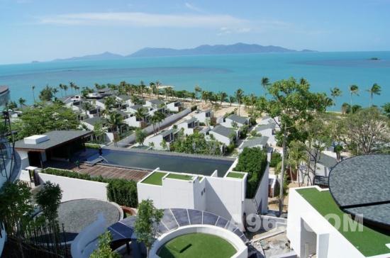 酒店设计欣赏:泰国苏梅岛w度假酒店